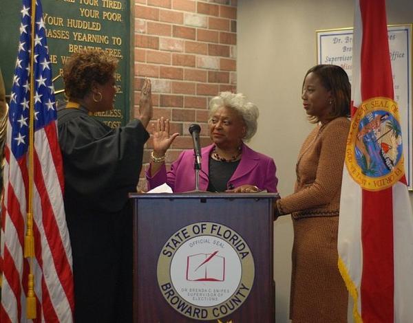 Broward County Supervisor of Elections Brenda Snipes
