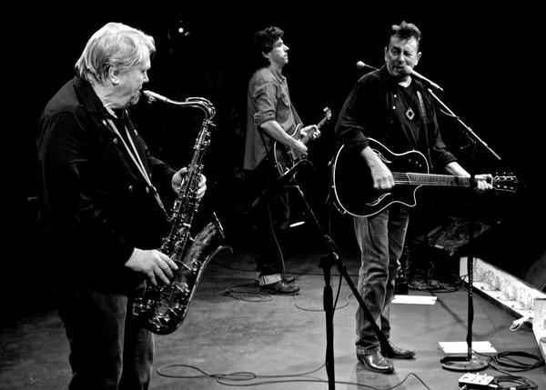 Bobby Keys plays sax with the Joe Ely Band.
