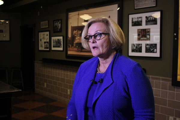 Democrat Claire McCaskill met with U.S. Supreme Court nominee Brett Kavanaugh last month, and said Wednesday that she will not vote for him.