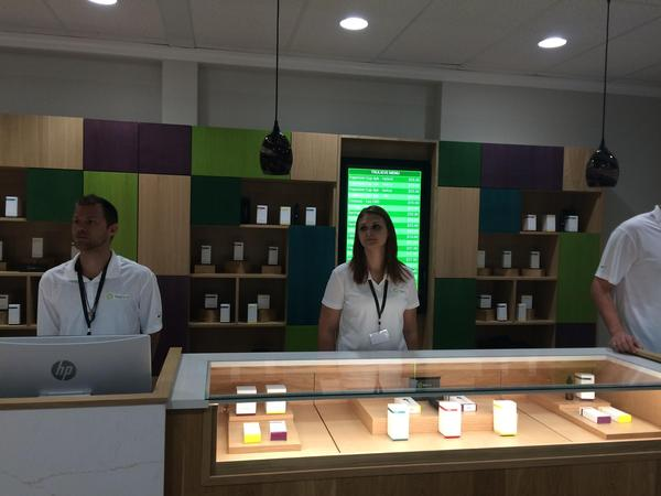 A dispensary operated by Trulieve, one of the largest medical marijuana companies in the state.