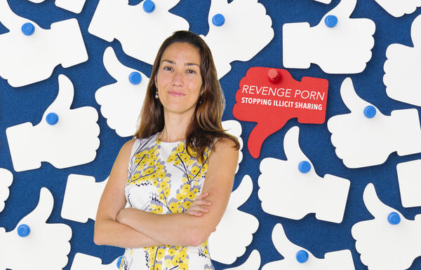 Psychologist Asia Eaton is helping Facebook in its fight against revenge porn.