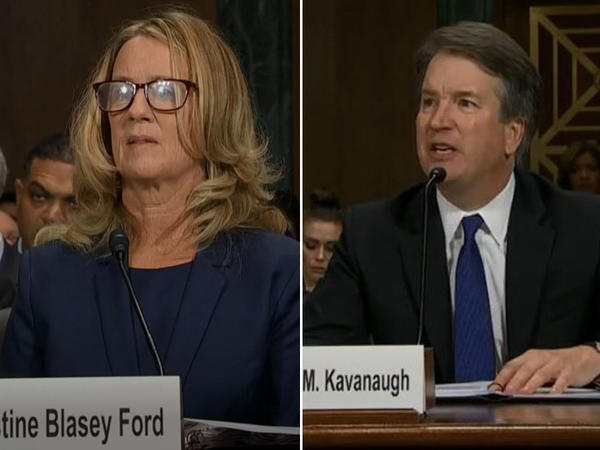 Dr. Christine Blasey Ford and Judge Brett Kavanaugh testify before the Senate Judiciary Committee.