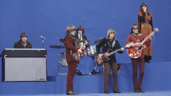 Jefferson Airplane in May 1967: Marty Balin (from left), Paul Kantner, Spencer Dryden, Jack Casady, Jorma Kaukonen and Grace Slick.