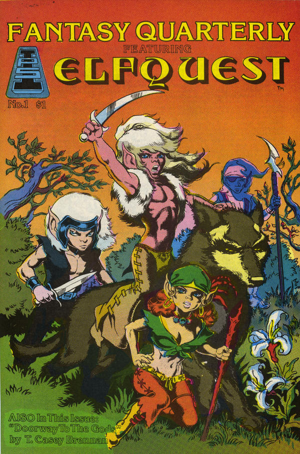 The very first issue of <em>ElfQuest</em>, from 1978.