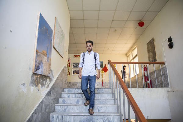 "Abbas recently finished his first year of beginning Mandarin. ""Chinese is the language that can make Pakistan prosperous and help Pakistanis get a job,"" he says. ""China can also help Pakistan move forward."""