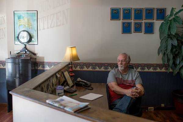 Gary Ball, editor of the local <em>Mountain Citizen</em> newspaper, has been reporting on water issues in the county for nearly two decades. Reporting in the <em>Mountain Citizen</em> prompted the state in 2002 to open the first investigation into the Martin County Water District.