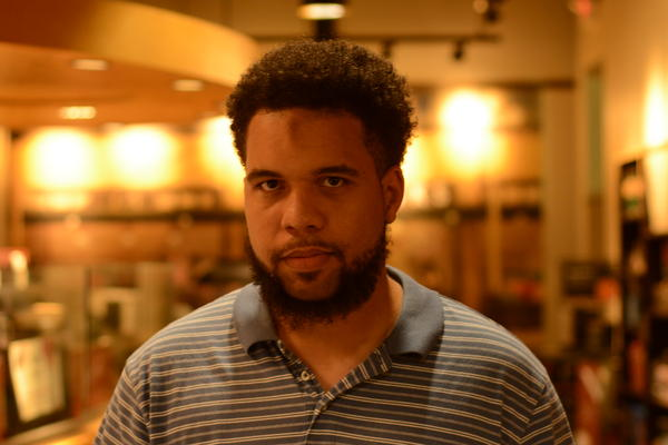 """Martin Curran from Detroit says """"As a Michigan voter, the most important issue to me is education. I am really passionate about the education of the next generation, especially in the black community."""" He was part of our Voter Voices segment today."""