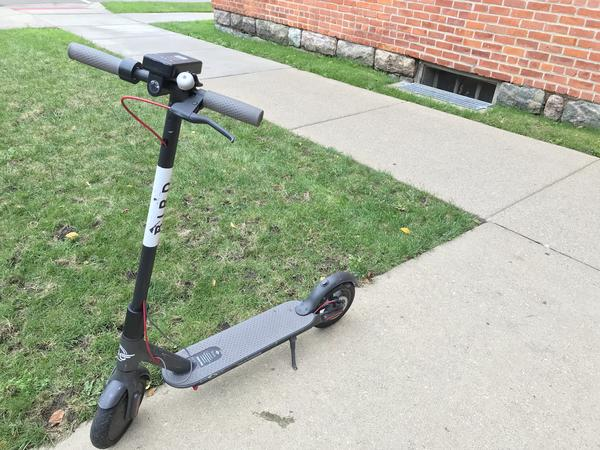 Bird is one of two electric scooter companies operating in Detroit