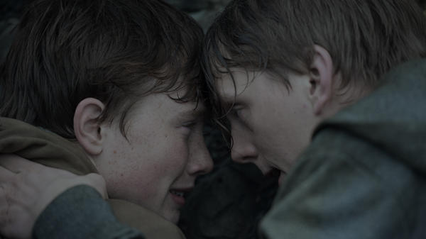 Isak Bakli Aglen and Jonas Strand Gravli play teens who are on the Norwegian island of Utøya during the 2011 terror attacks in Paul Greengrass' new film, <em>22 July. </em>The film<em> </em>is being released Wednesday on both Netflix and in 100 theaters worldwide.