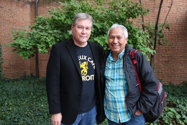 Stateside host Lester Graham and Emilio Gutierrez-Soto
