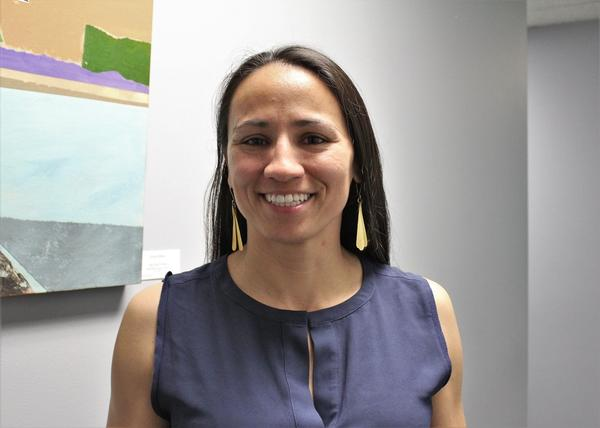 Sharice Davids is running against incumbent Kevin Yoder for Congress in Kansas' 3rd District.