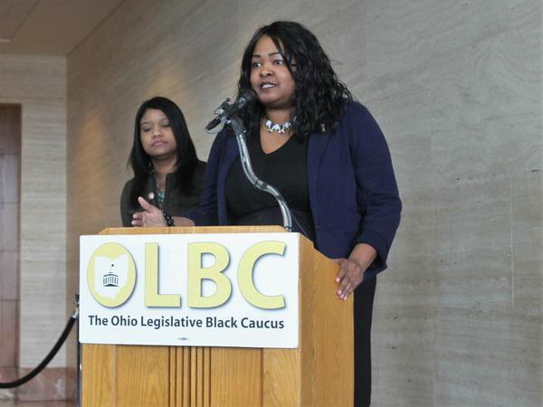 Stephanie Howse, president of the Ohio Legislative Black Caucus.