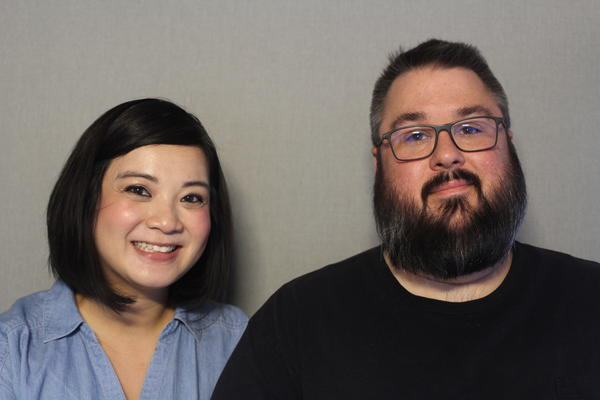Gina and Chris Moore talked about their struggles with infertility at the StoryCorps MobileBooth in Kansas City.