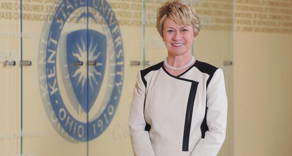 Beverly Warren will end her tenure as Kent State president next summer.