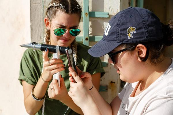 """Participants in Sea Level Solutions Day get the chance to be """"citizen scientists"""" and help researchers collect water samples."""