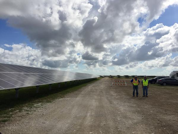 The new FPL Solar Center is located off of Krome Avenue.