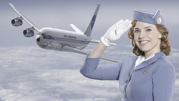 Kelli Garner is one of the stars of ABC's nostalgic <em>Pan Am</em>.