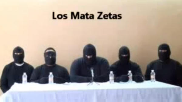 """<p>""""Los Mata Zetas,"""" or the """"Zeta Killers,"""" described themselves in a recent video as a paramilitary group that will go after members of the Zeta drug cartel. The Mexican government, however, has described it as a rival drug cartel that is just seeking to eliminate competition from the Zetas.</p>"""