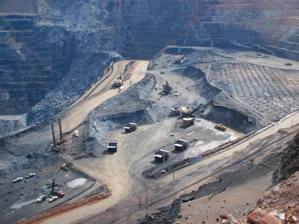 The Goldstrike mine, just outside of Elko, Nev.