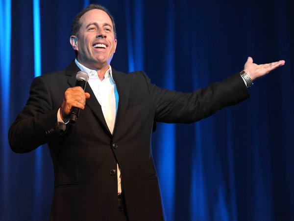 Jerry Seinfeld is premiering a Web-only series Thursday called <em>Comedians in Cars Getting Coffee</em>. The new show features fellow comedians like Larry David, Ricky Gervais and Michael Richards.<em> </em>