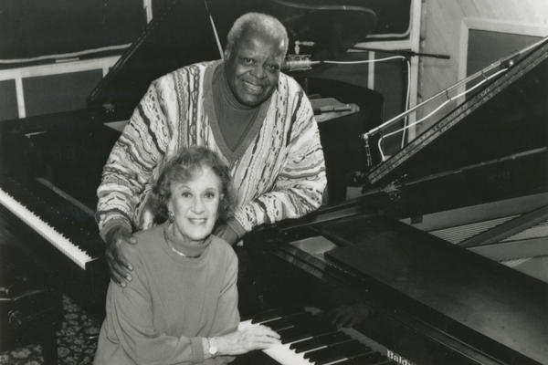The great pianist Oscar Peterson taped an episode of <em>Piano Jazz </em>in 1997.