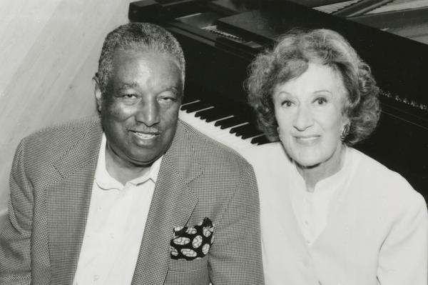 Ray Brown played bass for years in Oscar Peterson's trio and also appeared on the program.