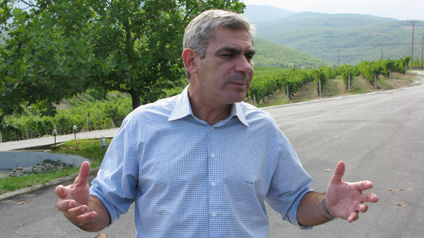 Winemakers like Stellios Boutaris, shown near his vineyard outside Naoussa, Greece, and other business leaders have been forced to pursue new financial tactics because credit is hard to come by.