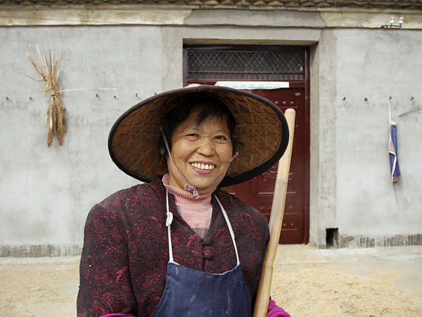 Wang Heying, 64, supports the new Communist leaders, even if she can barely name them. She says government  policies have led street lamps, bigger houses and a TV in every home.