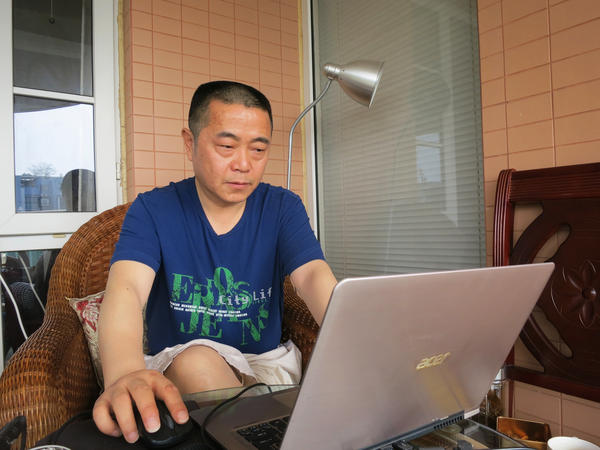 Activist Huang Qi spent three years in prison after the Wenchuan earthquake for illegally possessing state secrets. He's now in poor health, in part because of his treatment in jail, but he still runs an independent human rights website in Chengdu, the provincial capital, highlighting these problems.
