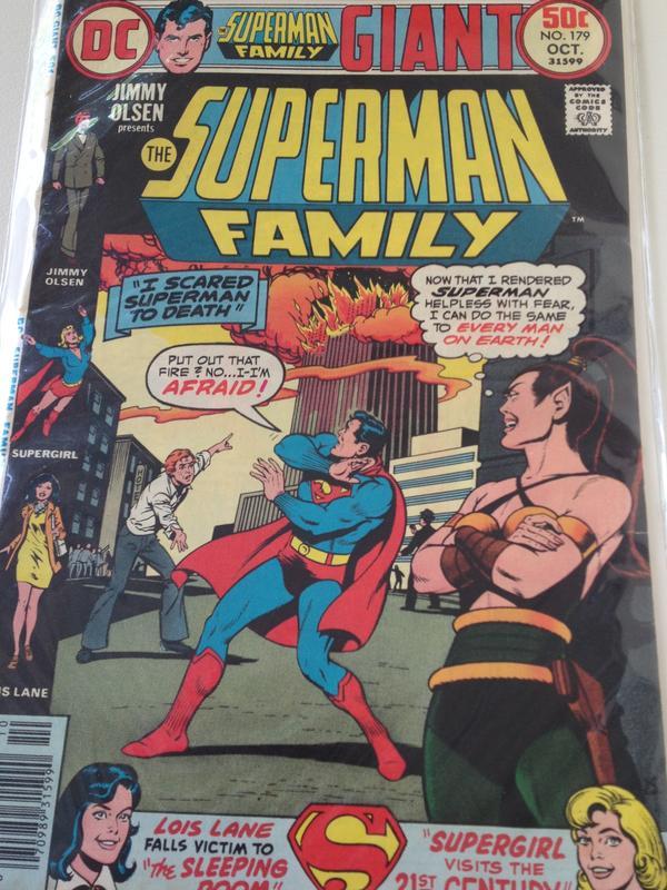 <em>Superman Family</em> issue #179 was originally published on October 1976.
