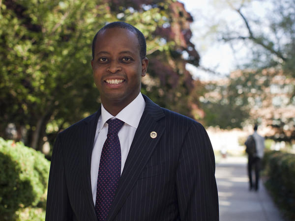Dr. Wayne Frederick, a cancer surgeon, took over as interim president at Howard University in October.