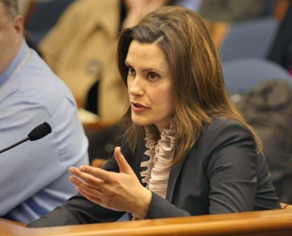 In December, State Sen. Gretchen Whitmer gave a speech about her own experience with rape during the debate over the abortion rider bill.