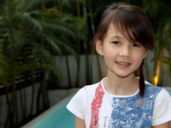 Christina Seigrist, 9, also helped gather signatures for the petition, but was surprised when Hong Kong officials actually decided to burn the ivory.