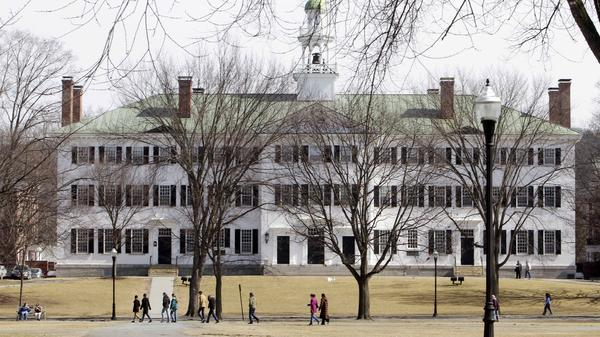Dartmouth College is one of 55 colleges and universities on the Education Department's list of institutions being investigated for how they've handled sexual assault cases.