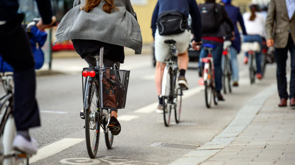 The ranks of bicycle commuters are growing, though men are almost three times more likely than women to ride to work.