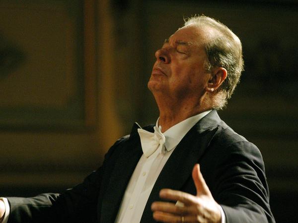 The versatile Spanish conductor Rafael Frübeck de Burgos.