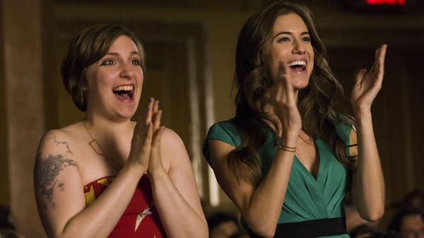 Lena Dunham and Allison Williams star in <em>Girls</em>, one of several popular HBO shows that stand-alone streaming could include.