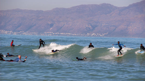 They're not just surfing for fun. Youngsters in Cape Town's Waves for Change are facing mental health problems. With the help of a surfing mentor and a counselor, they can learn how to cope.