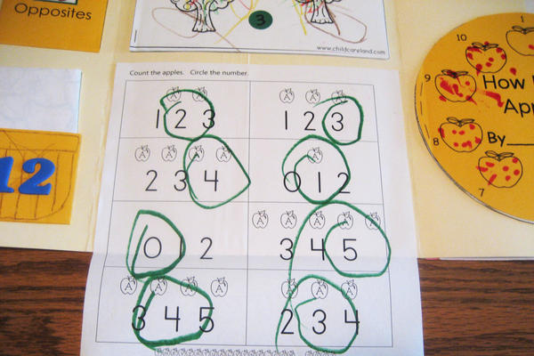 There's a real lack of math learning in pre-K. In one study, in fact, just 58 seconds out of a full preschool day was spent on math activities.