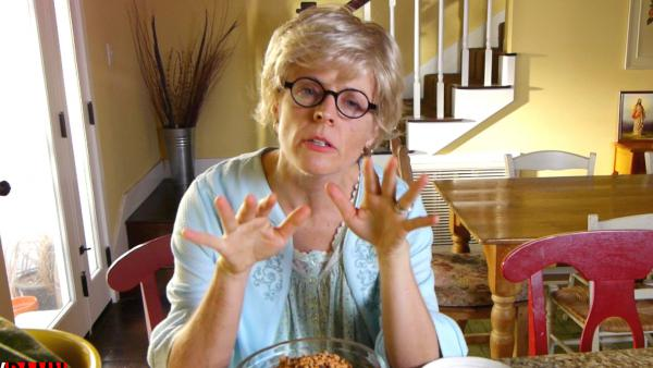 "A still from Maria Bamford's Web series ""Ask My Mom."""