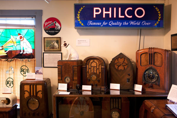 The National Capital Radio and Television Museum in Bowie, Md., is home to radios dating back to the 1920s.