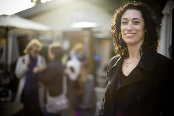 Anat Roth, 40, is a candidate for the Jewish Home Party. Roth once was more left-leaning, but has come to believe that a two-state solution is impossible because of Palestinian demands.