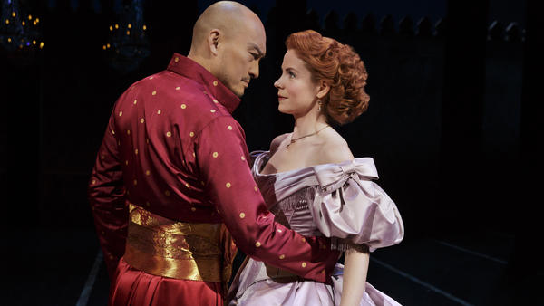Ken Watanabe and Kelli O'Hara have both received Tony nominations for their portrayals of the king and Anna Leonowens in Bartlett Sher's revival of <em>The King and I</em>.