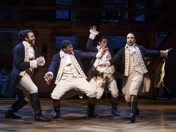 <em>Hamilton</em>, which opened Thursday on Broadway, is a play based on the life of Founding Father Alexander Hamilton.
