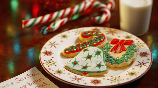 We won't sugarcoat it: The tradition of children leaving out milk and cookies for Santa Claus isn't an easy one to trace.