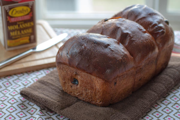 Lassy (short for molasses) Raisin Bread is a Newfoundland recipe.