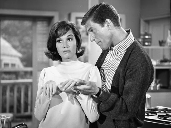 From 1961 to 1966, Moore played opposite Dick Van Dyke on <em>The Dick Van Dyke Show</em>. In 2011, Van Dyke told NPR he thought they had a bit of a crush on each other while filming the show.