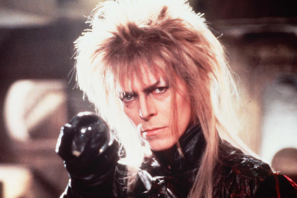 Bowie starred as Jareth the Goblin King in Jim Hensen's 1986 film, <em>Labyrinth</em>.