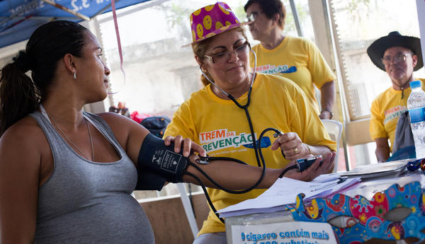 Amanda Fonseca, who is seven months pregnant with her second son, plans to skip Carnival because of her Zika fears.