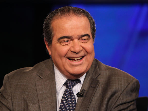 U.S. Supreme Court Justice Antonin Scalia takes part in an interview on July 27, 2012 in Washington, DC.